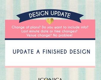 Design Update || Update A Finished Id Design || Edit A Finished Id Design || Need A Last Minute Change || Upgrade
