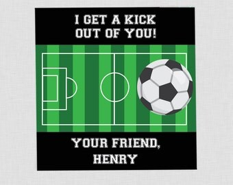 Soccer valentine  Etsy