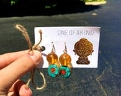 CLEOPATRA Earrings- Amber...