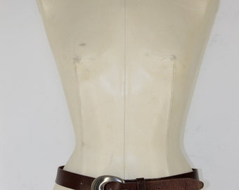 G Leather Belt