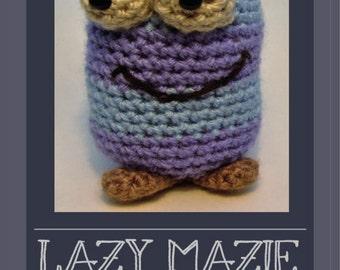 Crochet kit Lazy Mazie  amigurumi