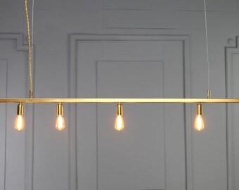 minimal lighting.  minimal diana gold copper tube pendant light minimal geometric modern industrial  design brass dining linear for minimal lighting