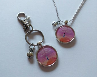YOU PICK Children's Book Purse Charm/Bag Clip or Necklace