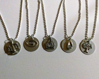 YOU CHOOSE Faction Charm Necklace