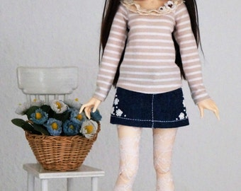 Schirt for bjd  MSD  Minifee