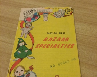 Vintage Bazaar Items Craft book