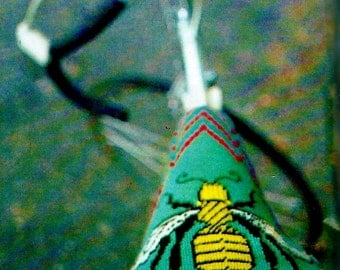 Bicycle Seat Cover Vintage Needlepoint Pattern Download
