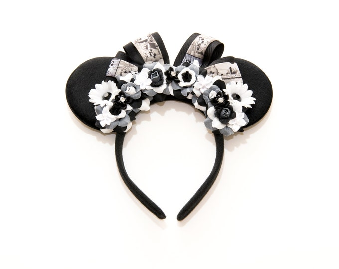 Steamboat Willie Mouse Ears Headband