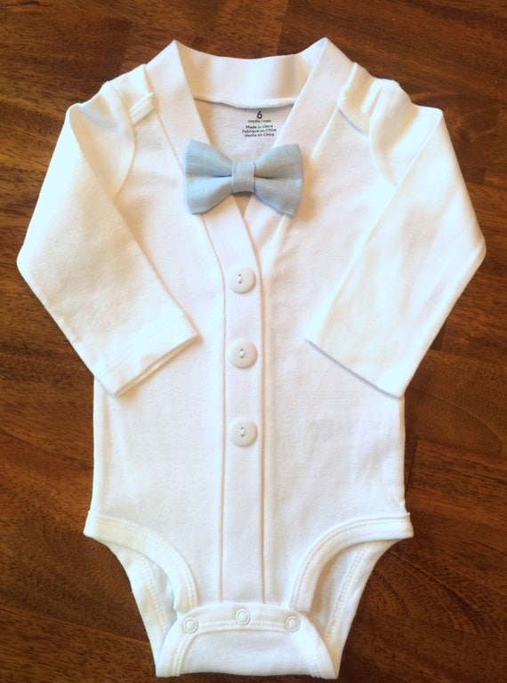 Baby Boy Baptism Outfit with Bow Tie Boysu0026#39; Christening