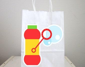 Bubbles Goody Bags, Bubbles Favor Bags, Bubbles Party
