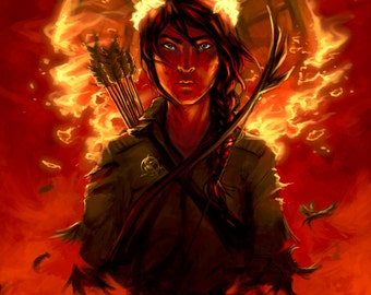 SALE Print: Fire is Catching