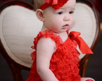 Valentines Heart Headband/RED/PINK/FUCHSIA/Baby Headband/Infant Headband/Toddler Headband/Valentine's Headband/Valentine's Photo Prop