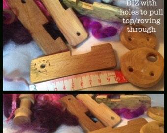 SPINNING NOTIONS & Accessories - diz, orifice hook/threader, WPI gauge,