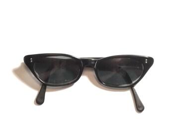 Lorelei Cat Eye Sunglasses, Cat Eye Sunglasses, Cat Eye Glasses, Lorelei Glasses, Vintage Sunglasses, Black, Fairfield,