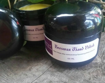 Speaking of Witch Wands Beeswax Wand Polish, Beeswax, Polish, Bees Wax, Beeswax Polish, Wood Polish, Wand Polish