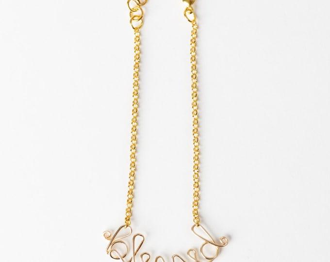 Blessed Bracelet (Gold)