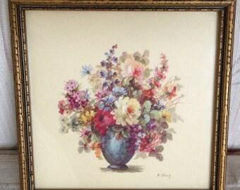 Framed Floral Prings by M. Black