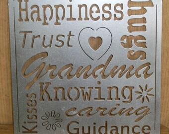 Grandma Subway Art