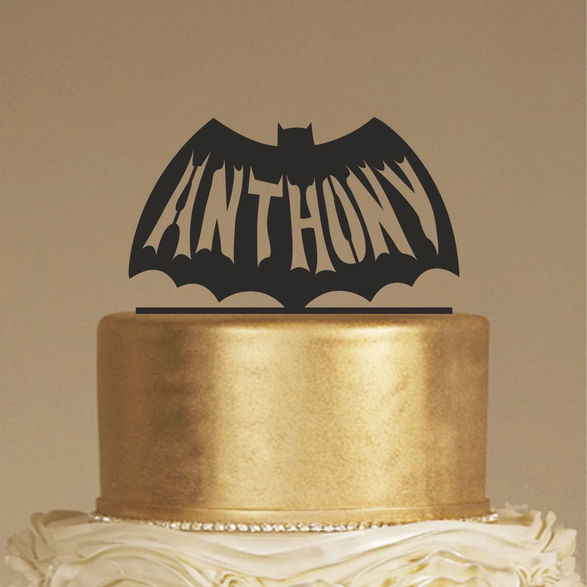 Birthday cake topper happy birthday cake topper custom name