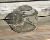 Vintage Glass Biscuit Jar