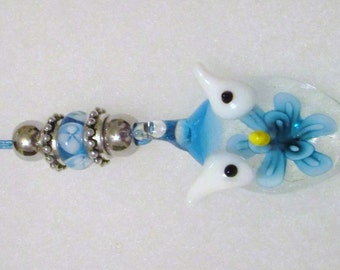 1273 - NEW Owl Mirror Charm