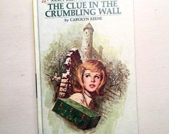 Vintage Nancy Drew Mystery Book The Haunted Bridge Carolyn Keene # 22 in Series Like New