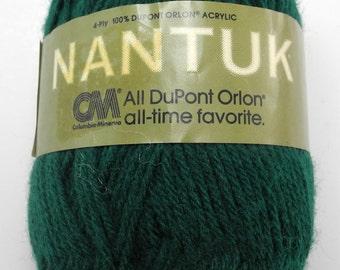 Columbia Minerva Nantuk 4-Ply Yarn - 1 Skein Sea Green #5966 - Orlon Acrylic