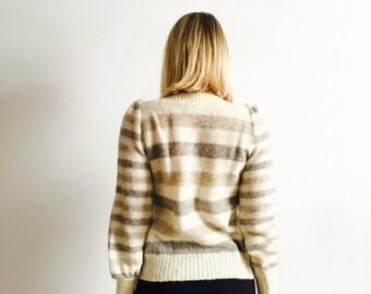 Super Warm Icelandic Wool Sweater Coat