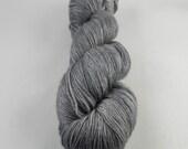 Don't Blink: 438 yards 50/50 Merino/Silk fingering weight yarn in Radiance yarn base.