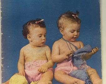 Corticelli Vintage Handicrafter Book No. KP 58 Baby Handknits