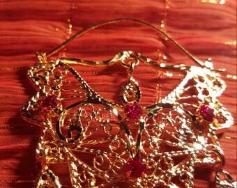 Gypsy Earrings Gold Plated
