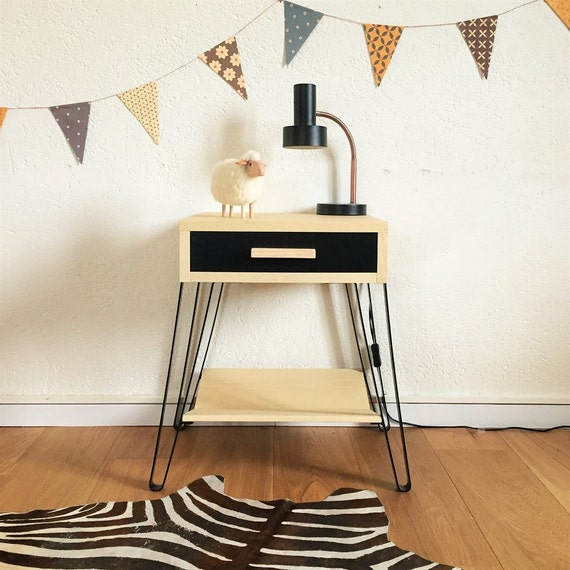 Table de chevet scandinave et vintage table de par for Table de chevet design scandinave