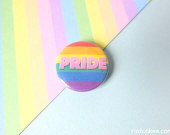 Lesbian & Gay Pride Button