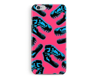 Dinosaur iPhone 5 Case, 5s case, Jurassic Park iPhone 5 Case, T-rex iphone 5 case, Gifts for friends, Pink iPhone Case, Girls iPhone 5 Case