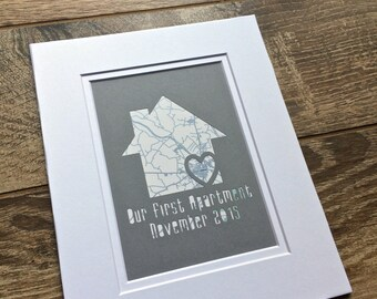 Our First Apartment - Gift For College Student- First Place Gift- New House Housewarming Gift- Gifts for Roommates - Gift For Sorority Girl