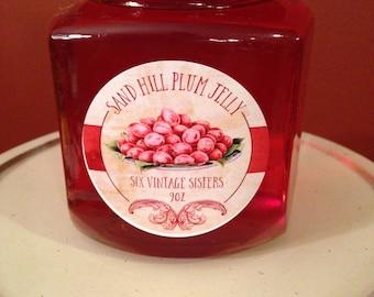 Kansas Sand Hill Plum Jelly