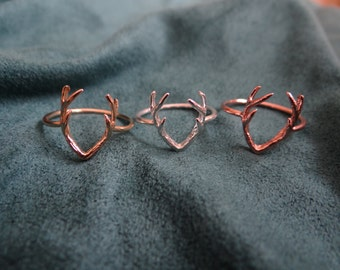 Deer Antler Ring (only 1 of each color available)