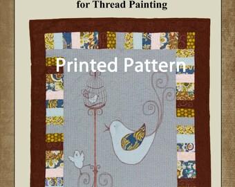 Quilt Pattern // Birdies Quilt Pattern // Child's Bed Quilt Pattern //Printed Pattern / Twin Quilt Pattrn