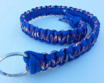 Patriotic Big Rig Air Horn Pull Cord Handmade, Truck Horn Puller, Truck Horn Pull Lanyard, Big Rig Horn Pull Lanyard, Candmjewelrydesigns.