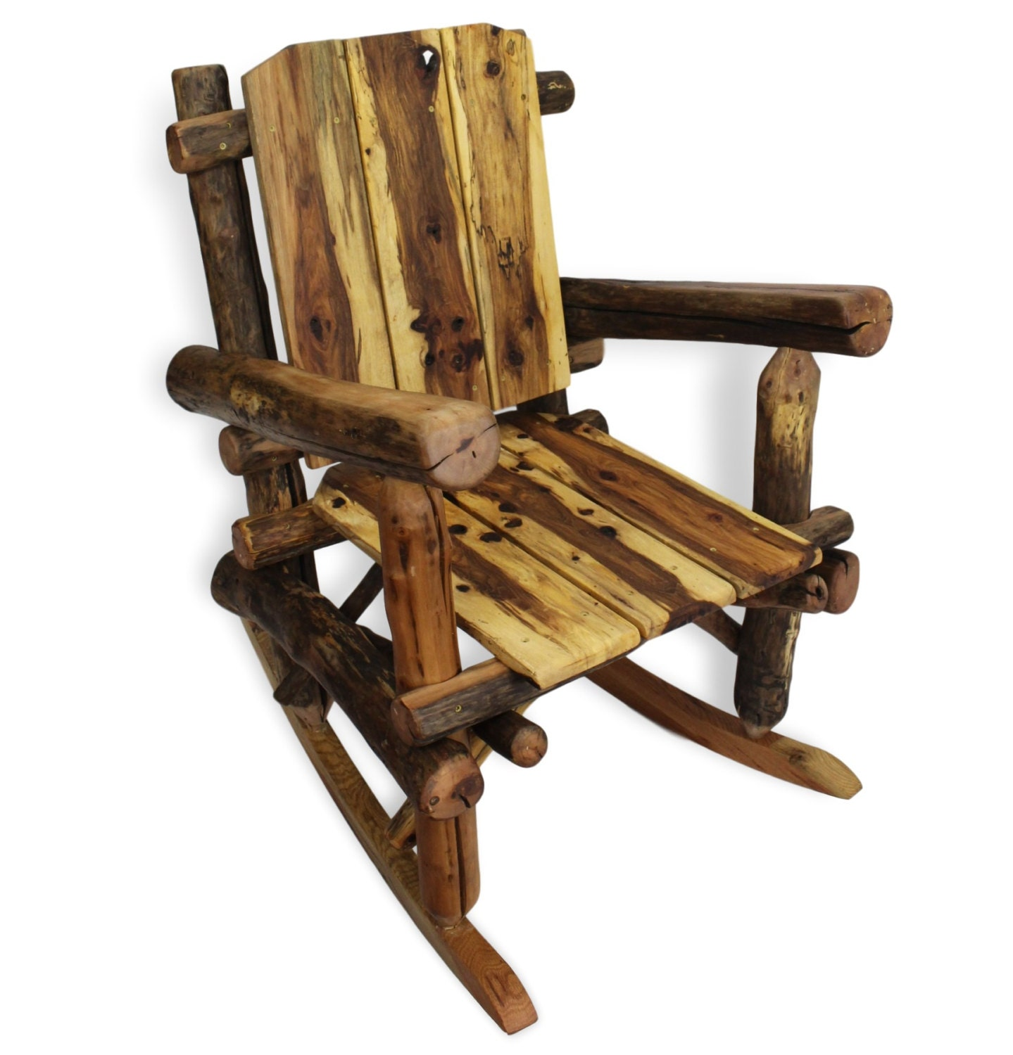 Rustic Rocking Chair Reclaimed Wood Rocking Chair Reclaimed