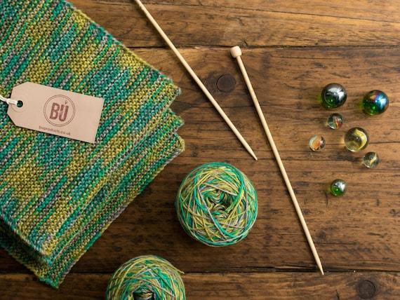 Scarf Knitting Kits Uk : Bamboo scarf knitting kit diy suitable for beginners