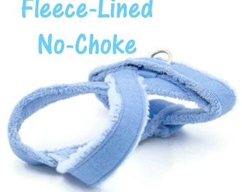 Small Dog Harness, No-Choke, Fleece-Lined Dog Harness for Small Dogs, Chihuahua, Yorkie, Maltese, Poodle,