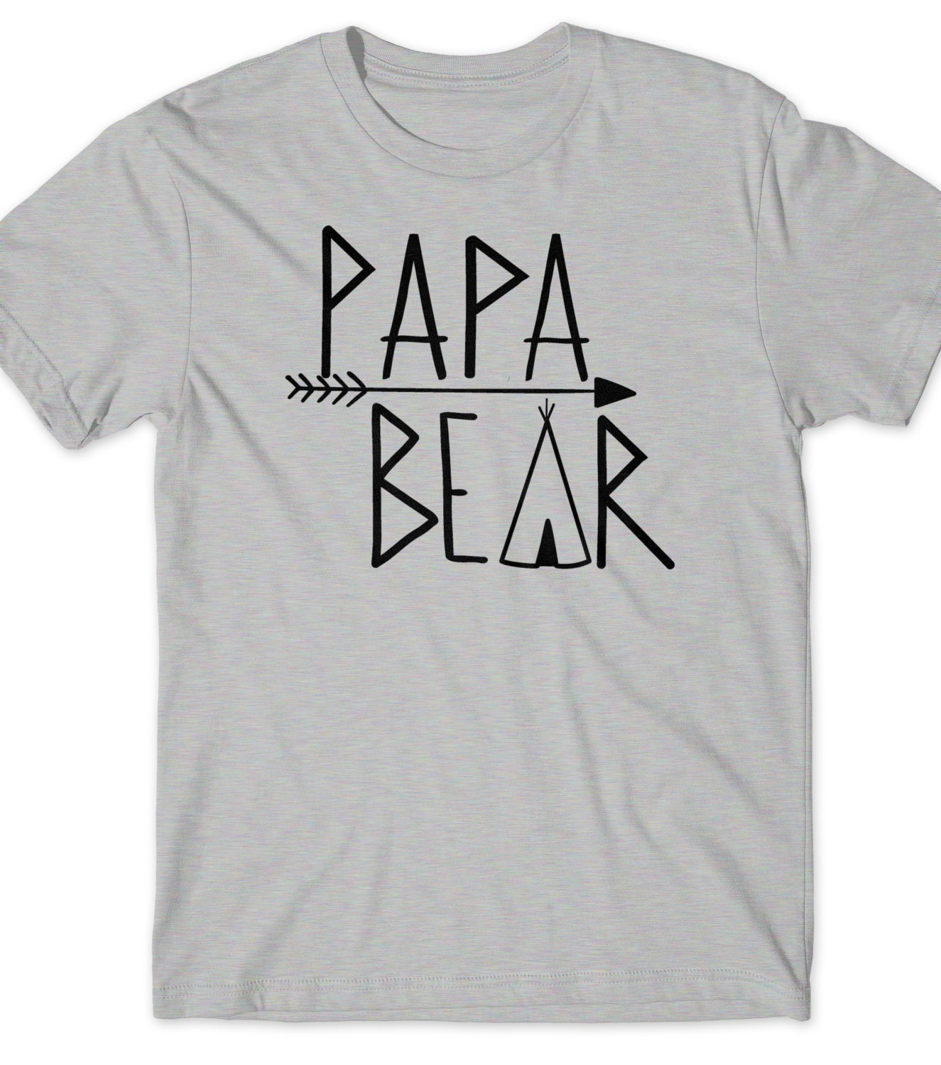 Papa Bear Shirt First Fathers Day Gift Ideas T Shirt By