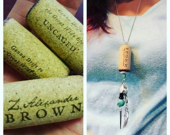 ZB Wine Cork with Charms