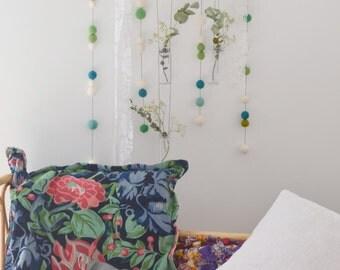 Large hanging to revegetate wall