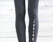 YOGA PANTS - Black Yoga Leggings - Women's Yoga Clothes - Yoga Clothing - Women's Leggings