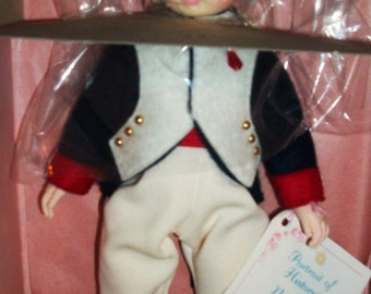 """Stunning 1980's Vintage MADAME ALEXANDER Doll NAPOLEON 10"""" #1330  Not Played With Original Box Packing And Tags"""