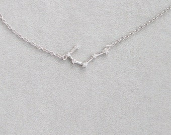 Scorpio Sterling Silver Necklace - 020600014