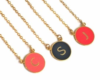 3 Best Friend Necklace, Three Best Friend Necklace, 3 best friend gift, Friendship Necklace For 3, Bff Necklace For 3, Initial Necklace