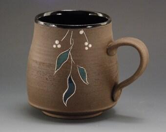Pottery mug, mug, coffee mug, handmade ceramic mug, pottery coffee mug, coffee mug handmade, coffee cup, blackmug, capuccino, tea cup